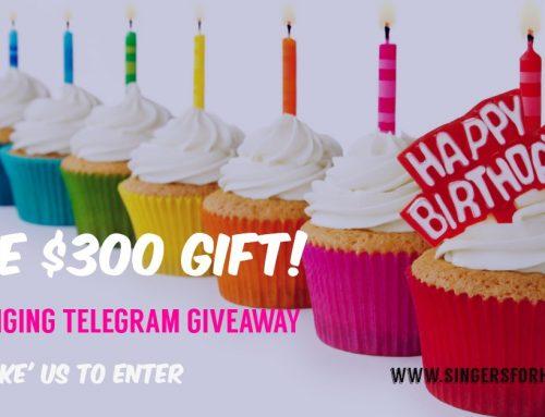 Free Telegram Giveaway!